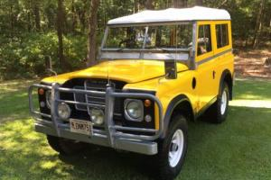 1977 Land Rover Series III GAME Photo