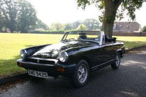 MG Midget 1978 1500cc, New MOT, Huge History! Runs and Drives Great!