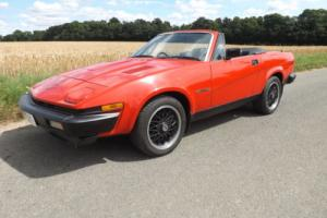 1982 Triumph TR7 - a full 'nut and bolt' rebuild