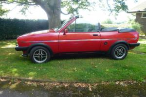 """FORD FIESTA MK 1 FLY 1982 """"CRAYFORD"""" built by F. ENGLISH Bournemouth"""