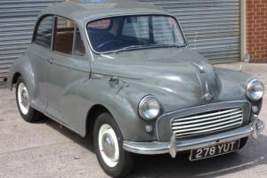 Morris Minor 1000 2 Door 1959 Frilford Grey