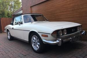 TRIUMPH STAG, MK1, 1972, AUTOMATIC , LOVELY CONDITION THROUGHOUT