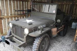WILLYS JEEP UNBELIEVABLE COPY! FORD PINTO MOTOR 2 WHEEL DRIVE £9500 OFFERS PX