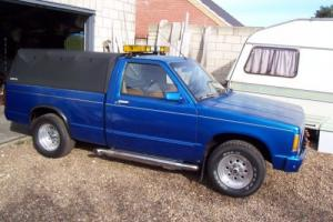 classic american chevy S10 pickup truck 1989