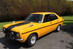 HILLMAN AVENGER TIGER MK1 1972 SUNDANCE YELLOW ORIGINAL RETRO CLASSIC CAR