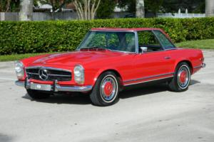1968 Mercedes-Benz SL-Class Pagoda Top 280SL 280 SL Roadster Auto Air 2 Tops