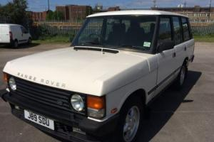 1991 LAND ROVER RANGE ROVER VOGUE EFI A WHITE