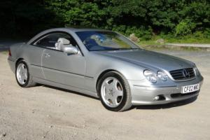 LOVELY 2002 (02) MERCEDES CL500 COUPE TIP-AUTO Full Mercedes History Superb spec