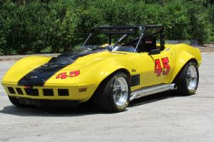 1972 Chevrolet Corvette ROADSTER SHOW CAR WIDE BODY