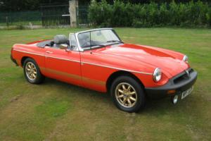 1980 MGB ROADSTER. SUPERB LOW MILEAGE CAR. GREAT VALUE Photo