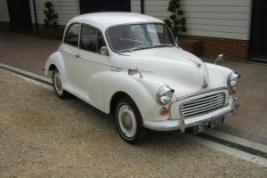 1961 MORRIS MINOR 1000 2 DOOR SALOON. GREAT STARTER CLASSIC