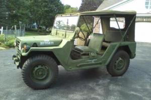 1968 Ford Army Jeep