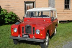 1969 Land Rover Series IIA Photo