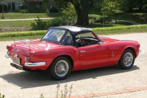 1970 Triumph Spitfire Roadster Photo
