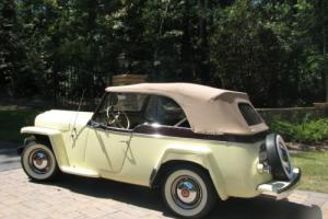 1950 Willys 2 doorPhaeton Convertible