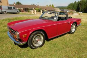 1974 TRIUMPH TR6 NEW MOT FULLY SERVICED SUPERB DRIVE EXCELLENT CLASSIC INVESMENT