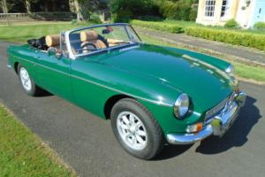 1970 MG B ROADSTER 1860CC STAGE 2 ENGINE, HERITAGE SHELL.
