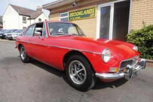 1971 MGB GT 1.8 FLAME RED