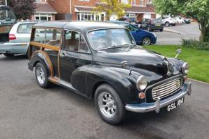 1960 Morris Minor Traveller 1275cc Engine, Long MOT, Useable Classic