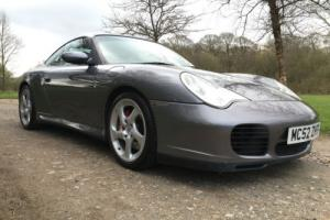 2002 52 PORSCHE 911 996 C4S CARRERA TURBO WIDE BODY - ONLY 69,000 - EXCELLENT