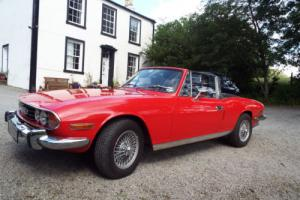 1972 Triumph Stag Convertible Manual O/D Rebuilt engine