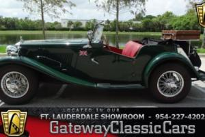 1953 MG T-Series Roadster Photo