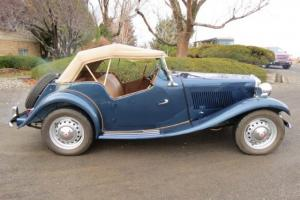 1951 MG T-Series Convertible Photo