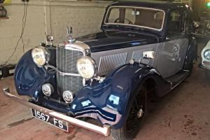 1938 Alvis 12/70 Mulliner Saloon - Very rare car - fully sorted!