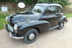 1955 MORRIS MINOR SPLIT SCREEN,HISTORIC VEHICLE (FREE TAX) AND MOT EMEMPT