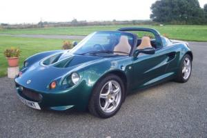 LOTUS ELISE,1997,F/S/H ONLY 68K MILES,VGC,LOADS OF INVOICES,BEST COLOUR COMBO