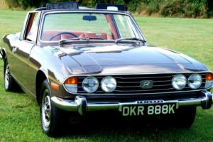 A LOVELY ORIGINAL UNRESTORED 1972 MK1 TRIUMPH STAG AUTOMATIC JUST 51,000 MILES. Photo