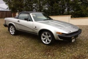 TRIUMPH TR7 CONVERTIBLE DHC - 2 LITRE-5 SPEED-1 OF THE LAST PX ROLEX OMEGA TAG ? Photo