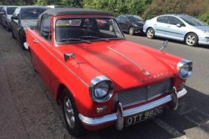 Triumph Herald 1360 PETROL MANUAL 1968/G Photo
