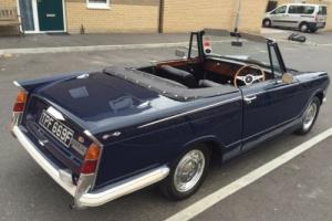 Triumph Herald Convertible 69F Superb Mot Aug17 Free Road tax