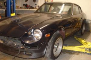datsun 240z usa barnfind import rust free shell 260z 280z project