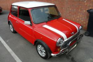 1995 ROVER MINI COOPER 1.3I LOW MILES.