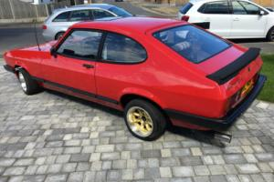 1980 FORD CAPRI L RED