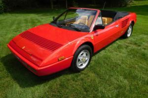 1986 Ferrari Mondial 30K-Mile Service Completed Beautiful Condition