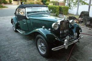 1951 MG T-Series MGTD Photo