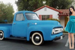 1955 Ford F-100 Daiy Driver Pickup w/ Rebuilt Motor Sweet Lil' Pick Up