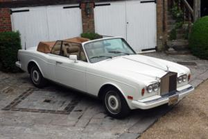 Rolls-Royce Corniche III Convertible Photo