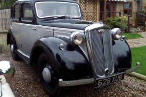 1948 WOLSELEY 8 very rare car loads of history tax and MOT exempt Photo