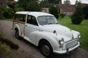 1969 MORRIS MINOR TRAVELLER - SUPERB WOOD, FAMILY PET, LESS THAN 2K MILES 17 YRS