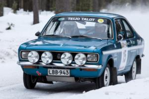 Hillman Avenger 1600 historic rally car. Sunbeam Avenger 1600