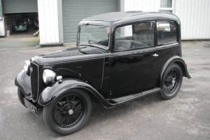 1935 AUSTIN SEVEN RUBY Fixed Head Saloon