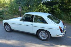 1972 MGB GT, older restoration and in great condition