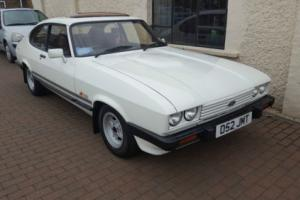 Ford Capri 1.6 Laser Diamond White, 48000 mile from new outstanding, 3 owners