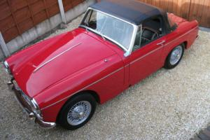 MG Midget, 1967, Mk III,Wire Wheels,Chrome Bumpers,PREVIOUS PHOTOGRAPHIC RESTO.