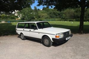 Classic Volvo 240 2.3 estate. 56,000 miles 1 Owner full VOLVO history