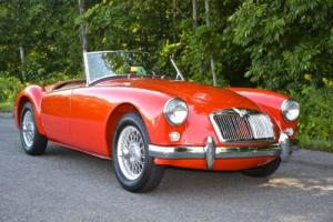 1957 MG MGA roadster Photo